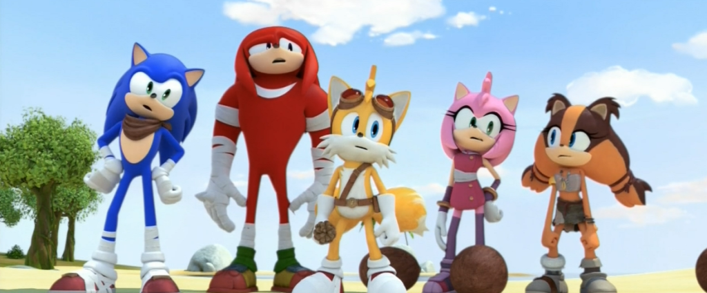 In this episode, Sonic and the gang figure out who farted.