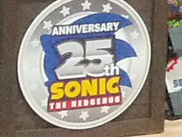 Sonic 25th Anniversary Logo Spotted At Vegas Licensing Expo!