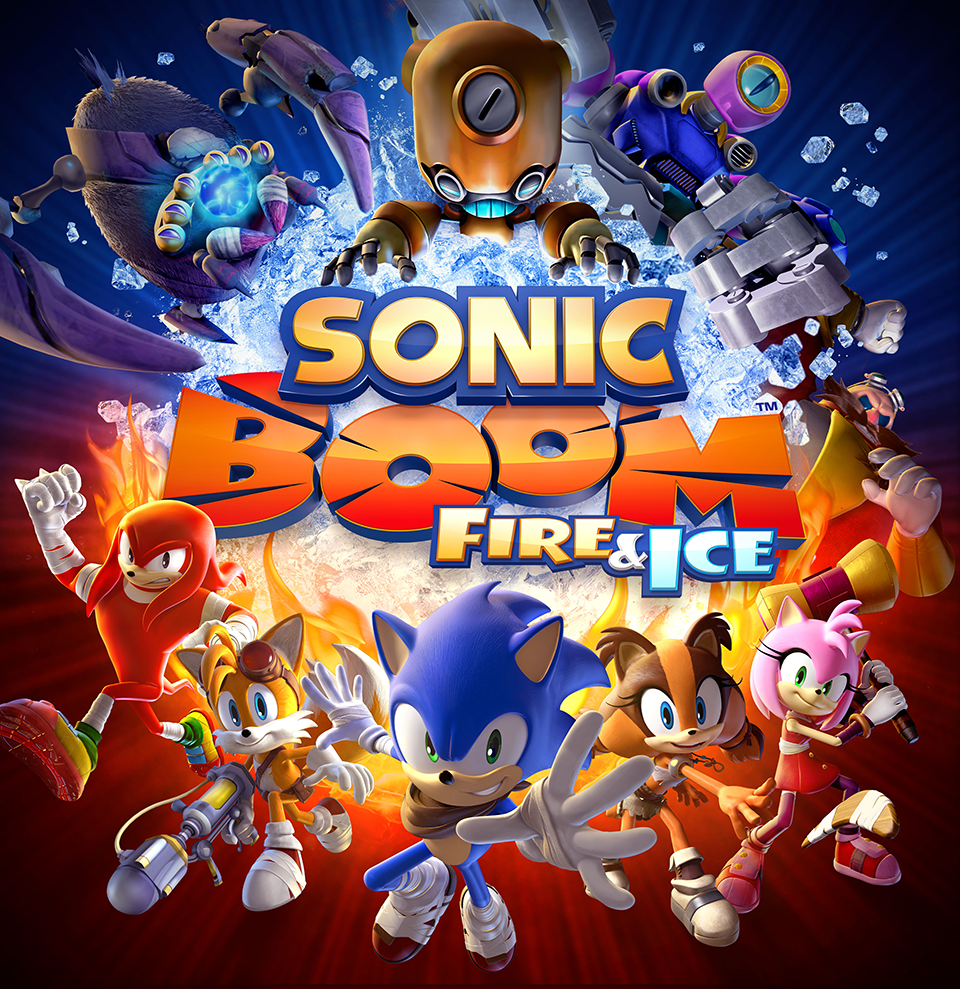 UPDATE: Sonic Boom: Fire & Ice unveiled for 3DS, coming this winter