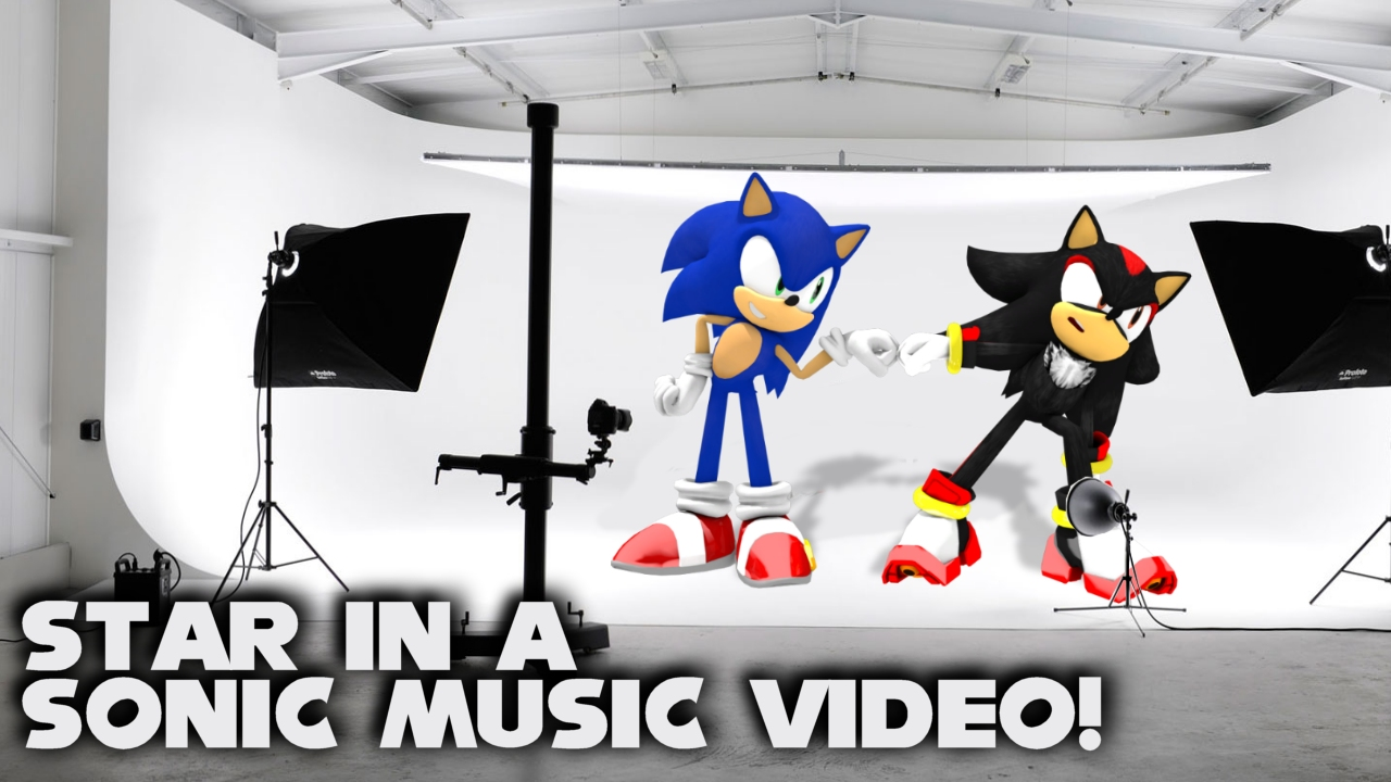 STAR in a Sonic music video with Zone Runners!