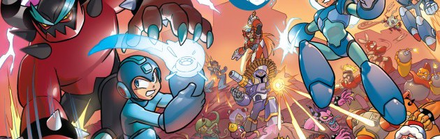 Preview: Mega Man: Worlds Unite Battles #1