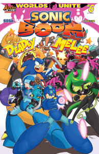 Preview: Sonic Boom #9 (Worlds Unite Part 6)