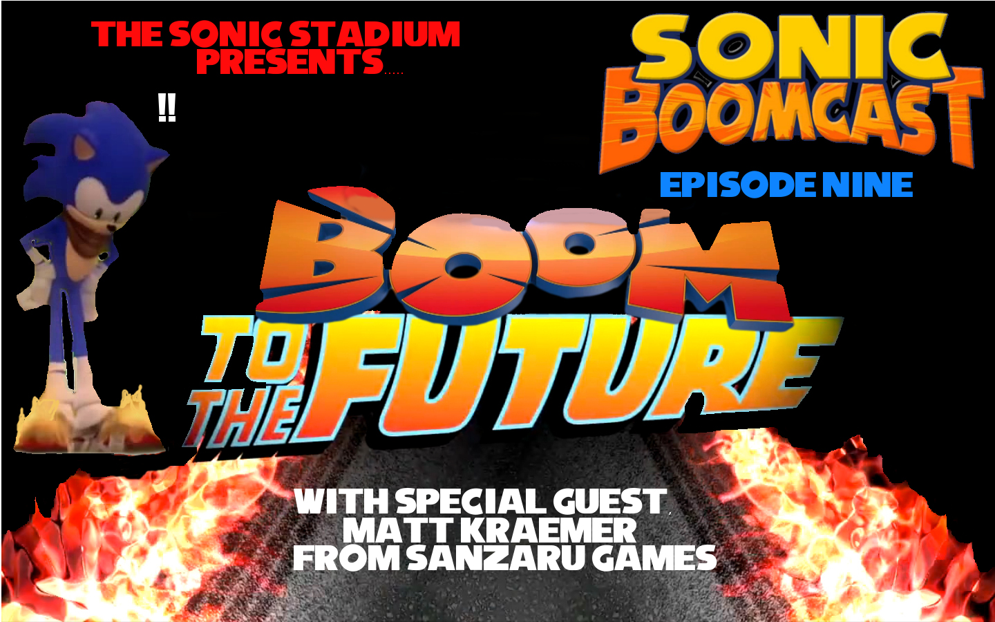"Sonic Boomcast Episode 9 ""Boom to the Future"" Includes Interview with Matt Kraemer from Sanzaru Games"