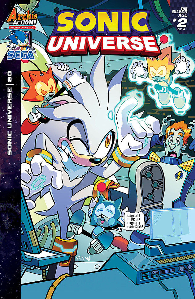 Galerry silver and blaze comics