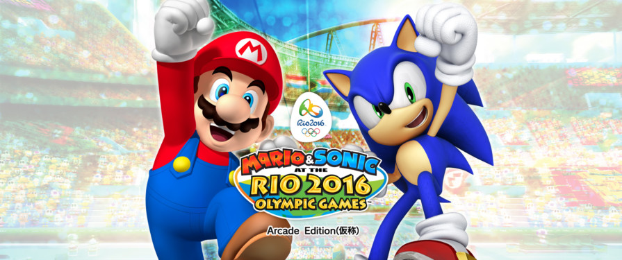 First footage of Mario & Sonic Rio 2016 Arcade Edition