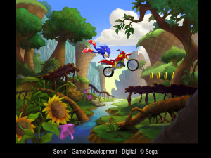 Sonic Motocross iPhone Game Proposal Discovered