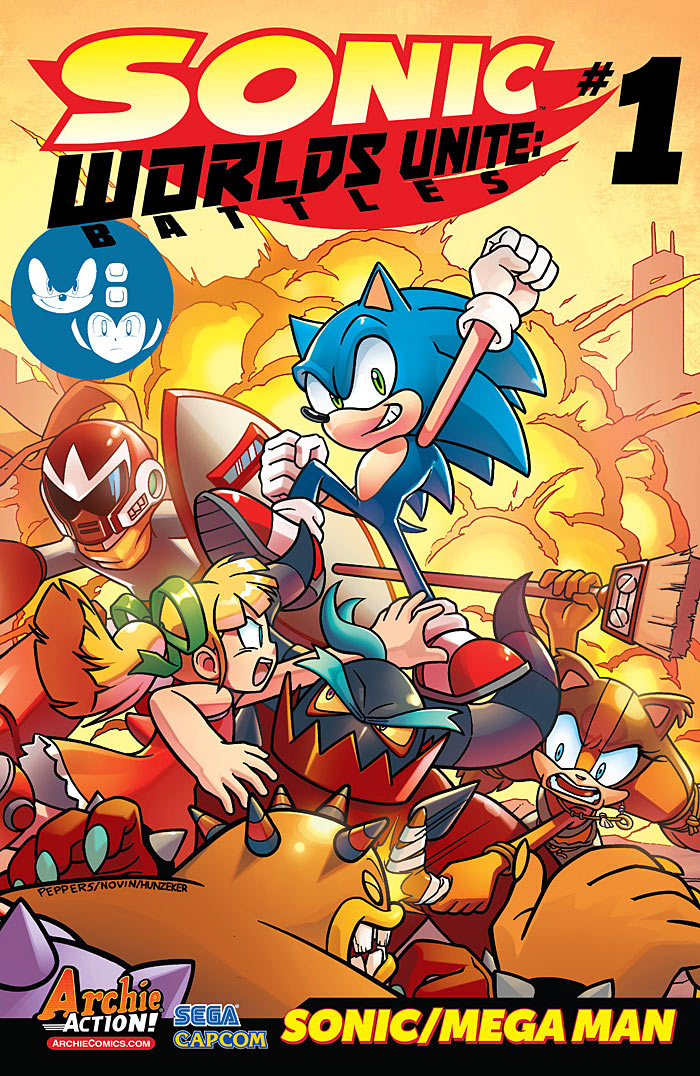 Preview: Sonic: Worlds Unite Battles #1
