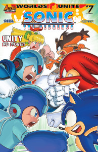 Preview: Sonic the Hedgehog #274 (Worlds Unite Part 7)