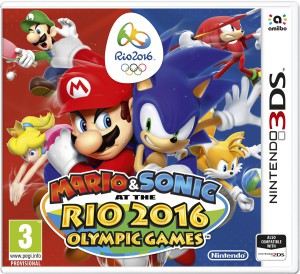 Mario & Sonic Rio 2016 3DS box from Nintendo's Swedish site shows amiibo support