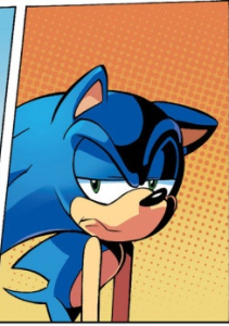 09a - Annoyed Sonic