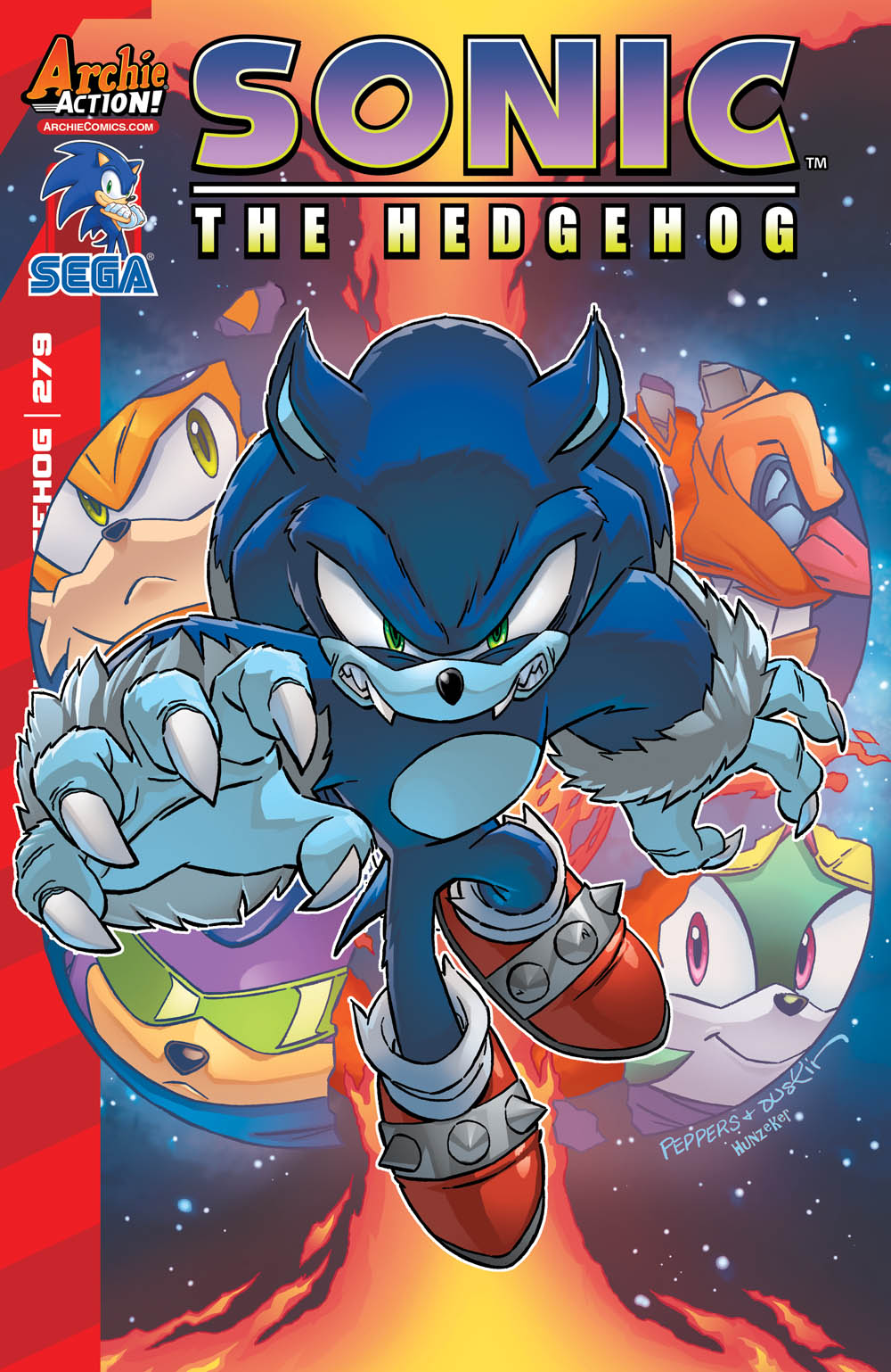 Covers And Solicitations For Sonic The Hedgehog 279
