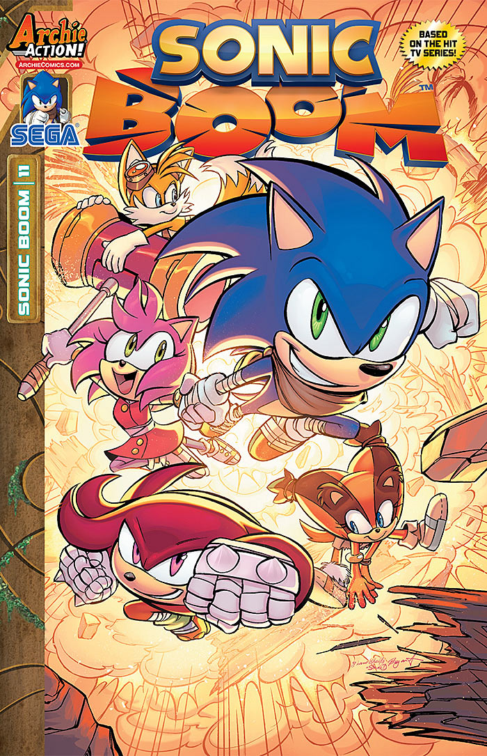 Preview Sonic Boom 11 The Sonic Stadium