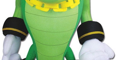 G.E. Entertainment Reveals Their Vector Crocodile Plush