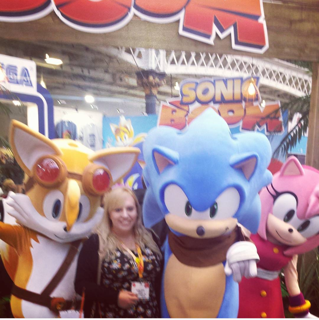 Sega's Booth At Brand Licensing Europe: 25th Anniversary & Boom Spotted