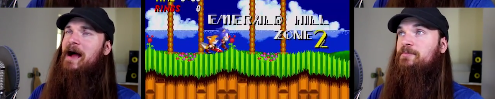 Smooth McGroove Releases a Lovely A-capella Rendition of Sonic 2's Emerald Hill Zone