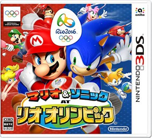 Mario & Sonic Rio 2016 3DS Japanese Box