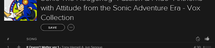 Huge selection of Sonic the Hedgehog songs now available on Spotify