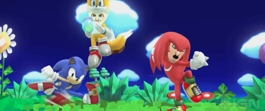 Tails and Knuckles Mii Outfits Coming to Smash Bros
