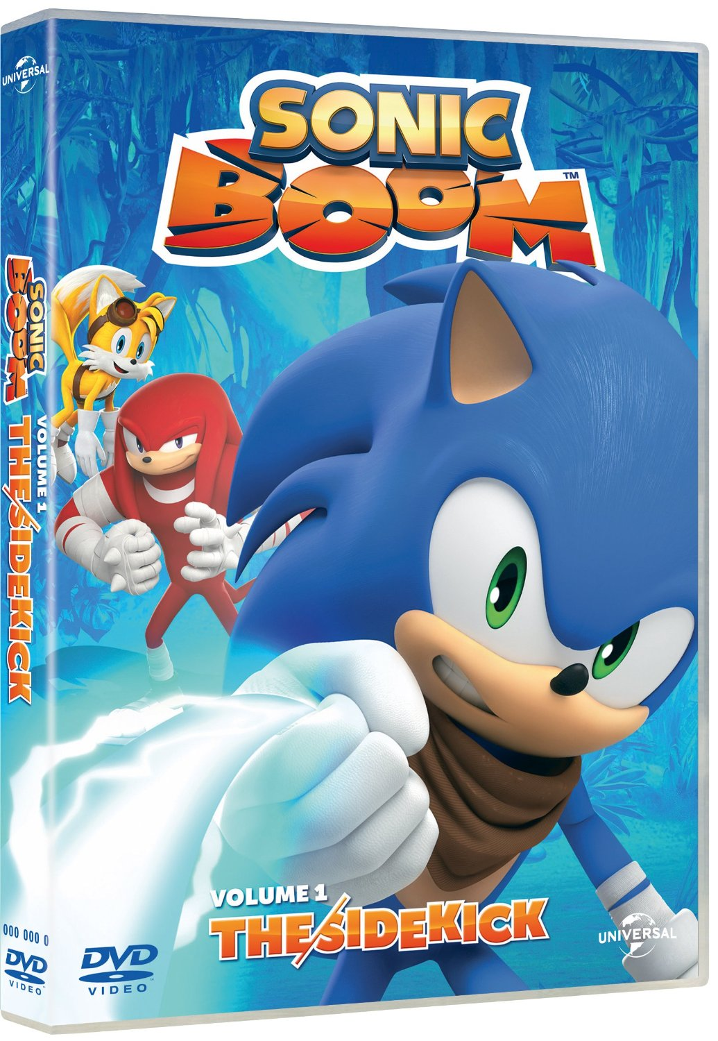 Sonic Boom DVD ... Knuckles Game