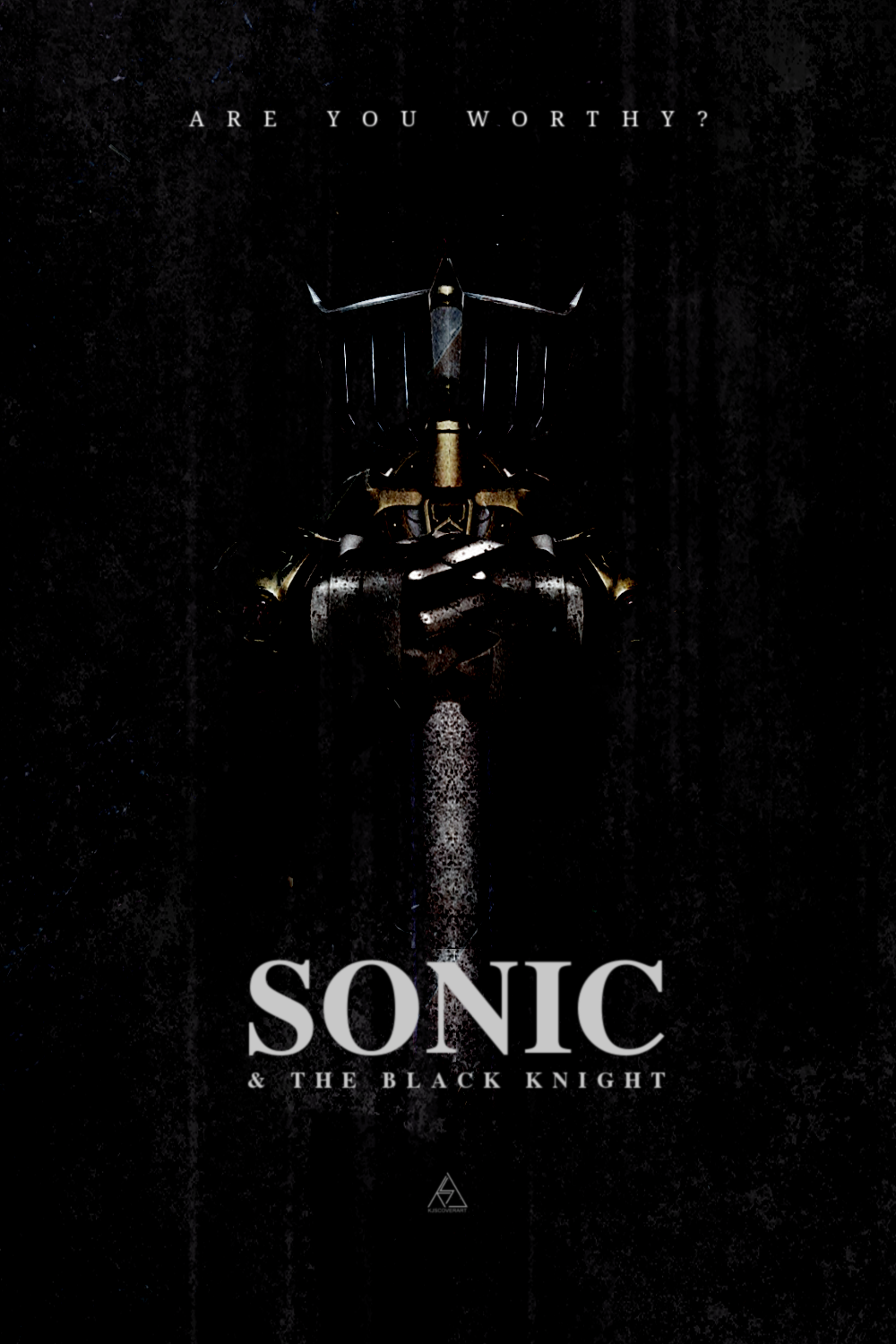 Scrapped Sonic and the Black Knight Poster Found