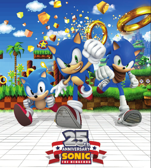 Sonic 25th Anniversary Theory    : sonic