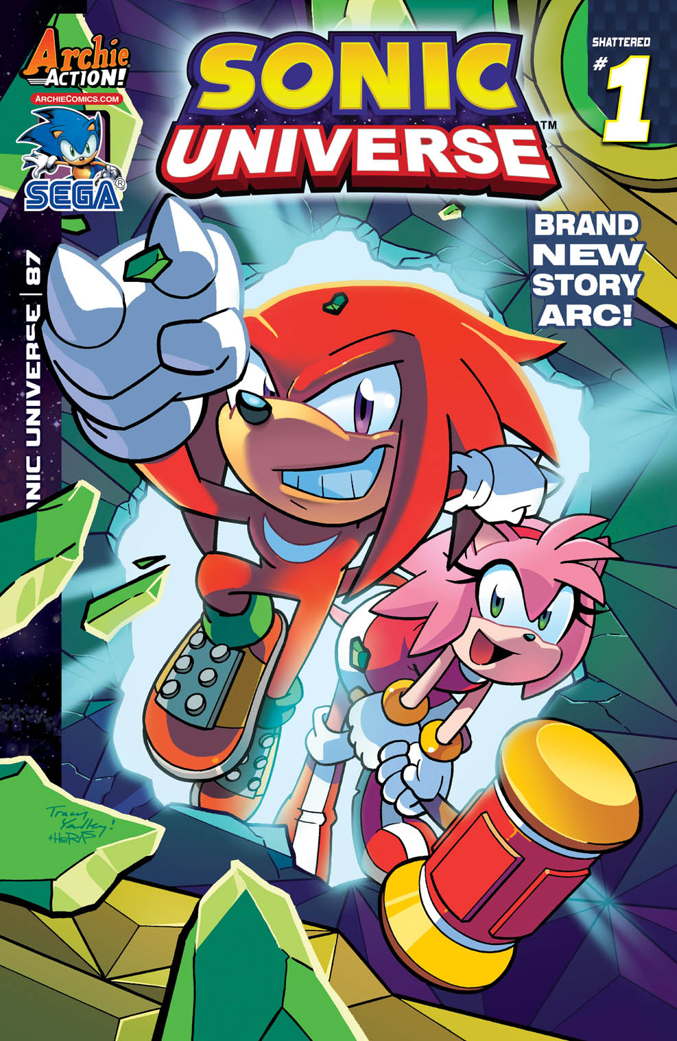 Archie Comics  Sonic The Hedgehog #284  Cover A  Variant
