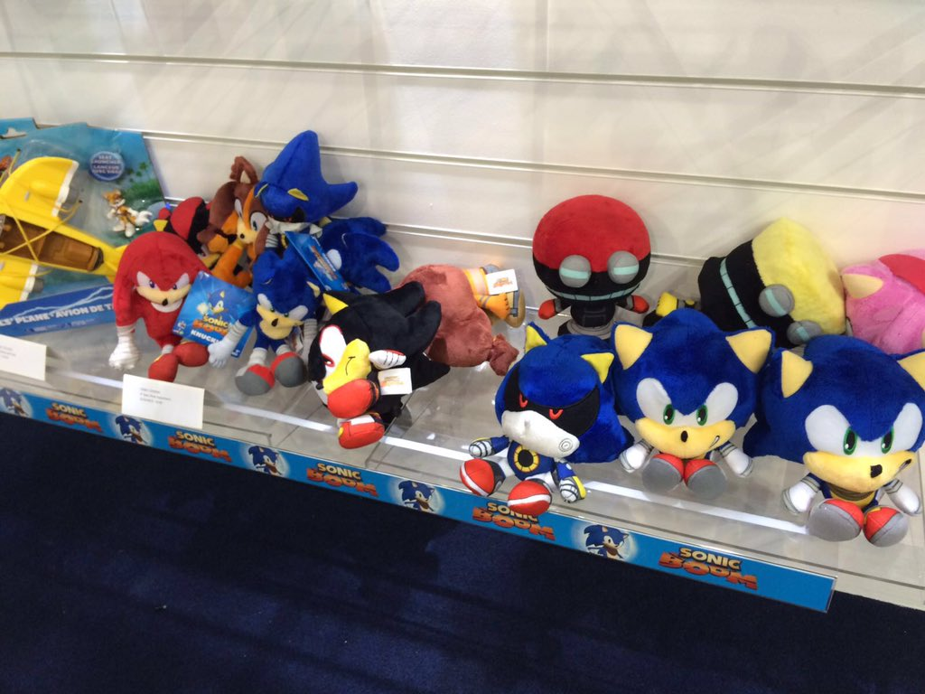 Toy Fair 2016: New Sonic 25th Anniversary Toys Revealed!