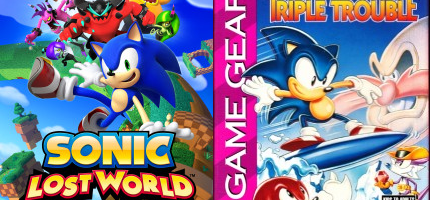 Sonic Lost World (Wii U) and Sonic Triple Trouble (3DS) on sale in NA until March 7th