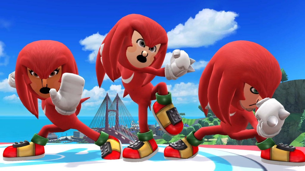 Super Smash Bros. & Knuckles... & Knuckles... & Knuckles...