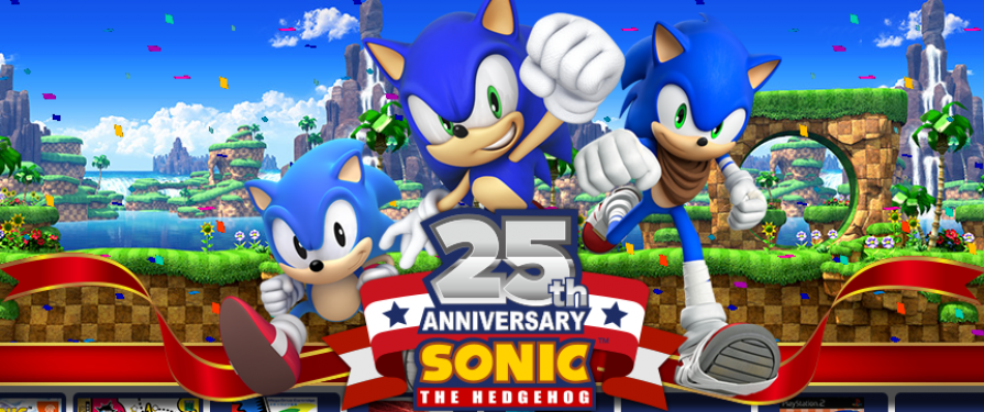 Japanese Sonic 25th Anniversary Website Launches