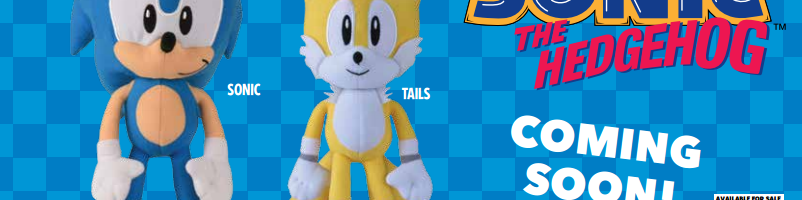 Toy Factory Reveals New Classic Sonic & Tails Plushes