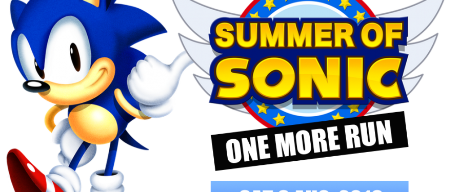 Summer of Sonic 2016 Announced, Dated & Kickstarter Launched!