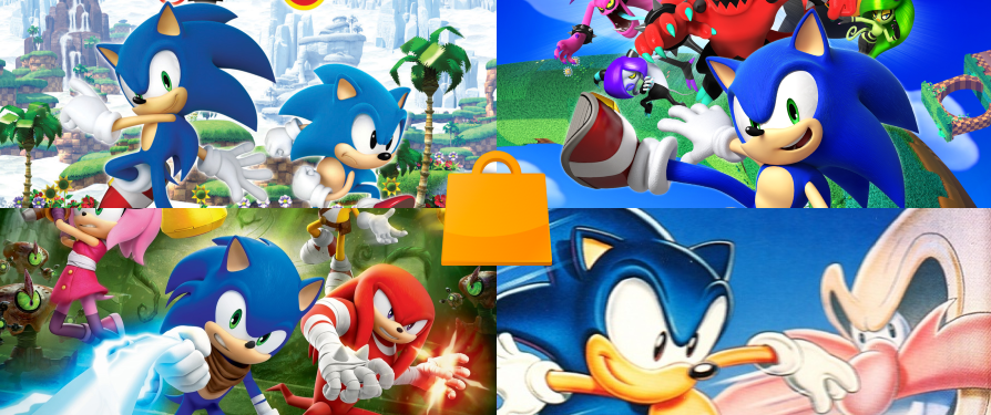 Sonic Games on sale on Nintendo eShop