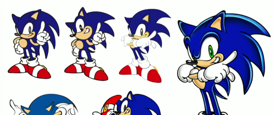 Lots of unseen concept art of Sonic and company