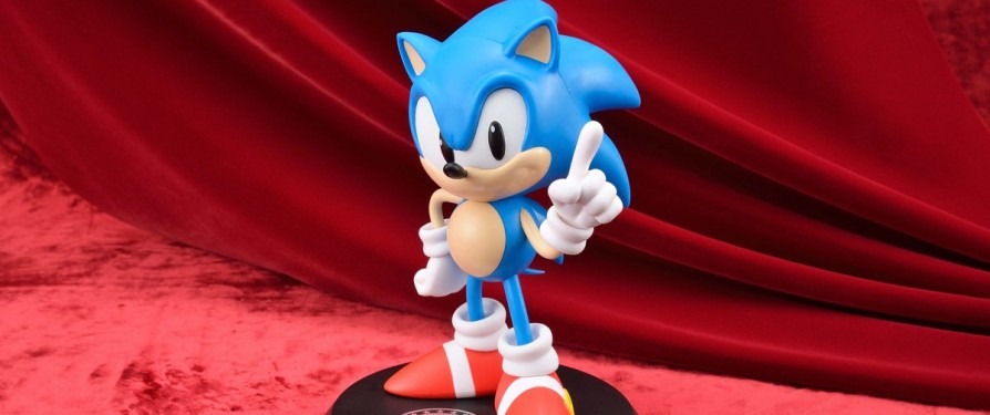 Classic Sonic 25th Anniversary Figurine Announced