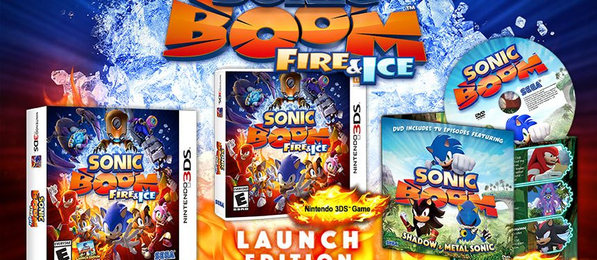 Sonic Boom: Fire & Ice Launch Edition Announced