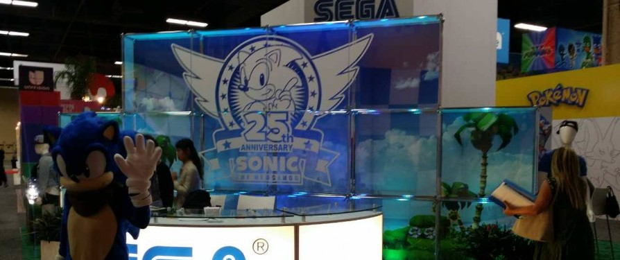 Take a Look Inside Sega's 2016 Vegas Licensing Expo Booth