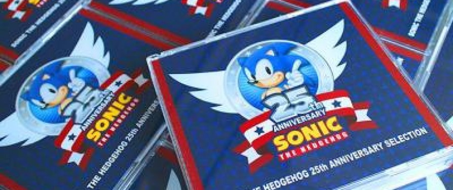 Sonic 25th Anniversary CD/DVD Revealed & Detailed