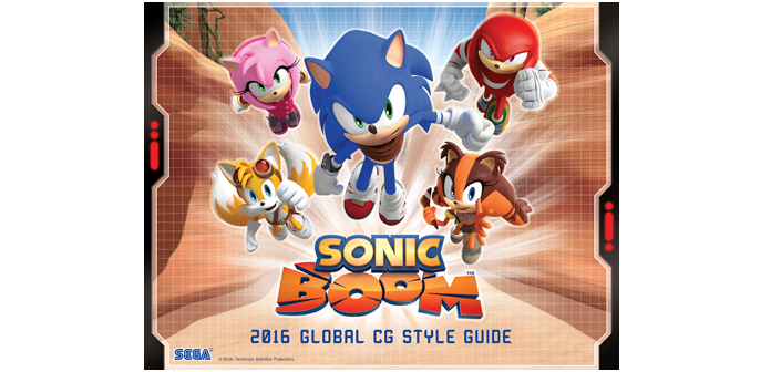 A Little Look at the Sonic Boom 2016 Style Guide