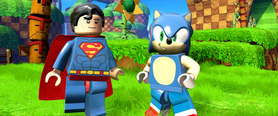 Sonic In Lego Dimensions, New Screenshots