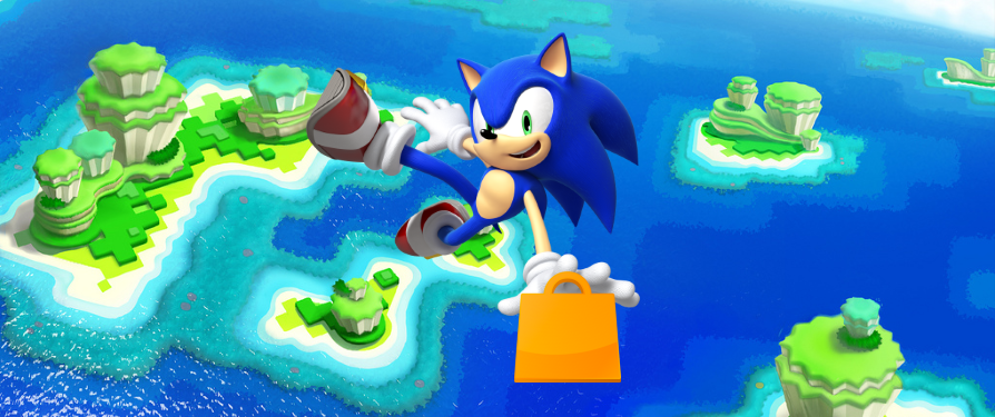 Sonic sale live in NA on both the Wii U and 3DS eShop