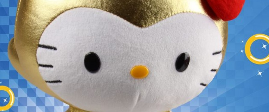 Sonic X Hello Kitty Limited Edition Plush Announced