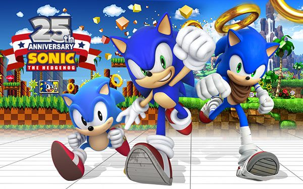 Sonic The Hedgehog At 25 – A Double Tap Interview