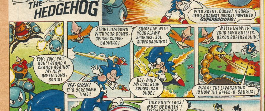 The Sonic Sunday Strips Have Been Found!