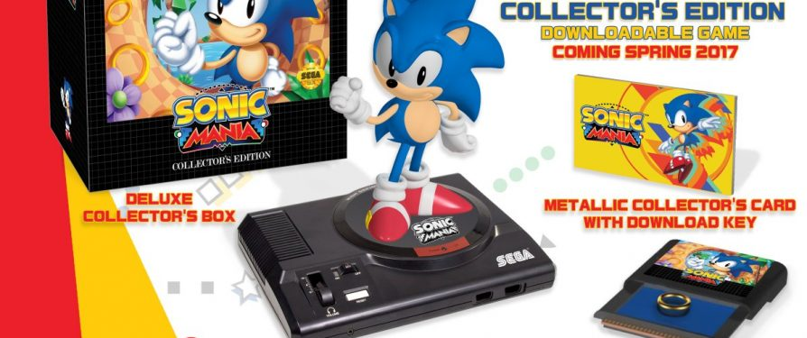 Sega Announces Sonic Mania Collectors Edition for North America