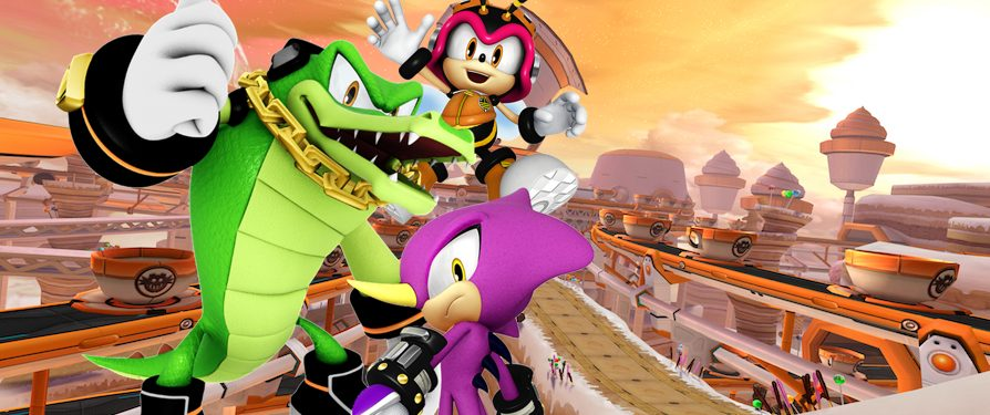 Mash-Up Monday: Team Chaotix X Sweet Mountain Area