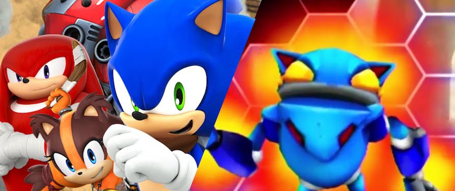 New Footage of Sonic Boom: Fire & Ice Gives Us Another Look at Bot-Racing