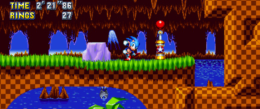 New Sonic Mania Footage from PAX West Shows off More of Green Hill and Studiopolis