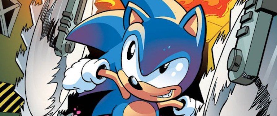 Step Back in Time with the Artwork from Sonic the Hedgehog #288