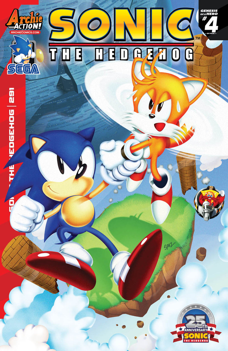 Comic Previews Sonic The Hedgehog 291 Sonic Universe 94 And Sonic Super Digest 19 The Sonic Stadium